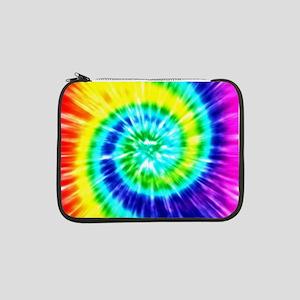 "Rainbow Tie Dye 13"" Laptop Sleeve"