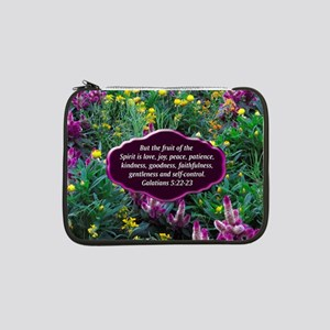 "GALATIANS 5 13"" Laptop Sleeve"