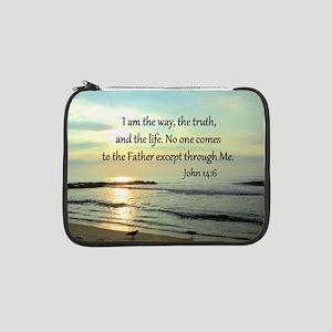 "JOHN 14:6 13"" Laptop Sleeve"
