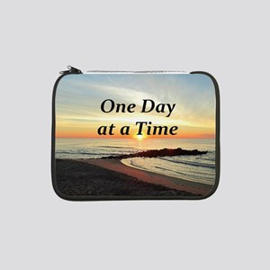 "ONE DAY AT A TIME 13"" Laptop Sleeve"