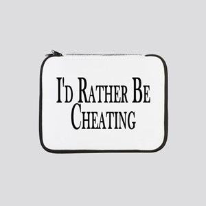 "Rather Be Cheating 13"" Laptop Sleeve"