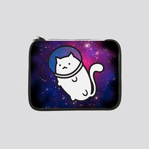 "Fat Cat in Space 13"" Laptop Sleeve"