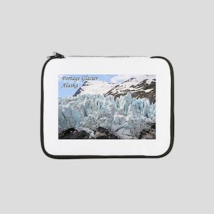 """Portage Glacier, Alaska (with ca 13"""" Laptop Sleeve"""