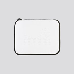 """Addicted To Swimming 13"""" Laptop Sleeve"""