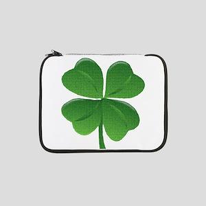 "St Patrick Shamrock T 13"" Laptop Sleeve"
