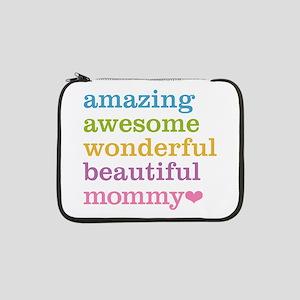 """Mommy - Amazing Awesome 13"""" Laptop Sleeve"""