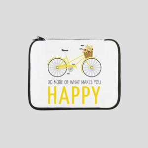 "Makes You Happy 13"" Laptop Sleeve"