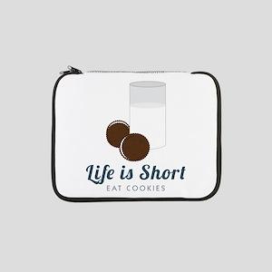 "Life is Short 13"" Laptop Sleeve"
