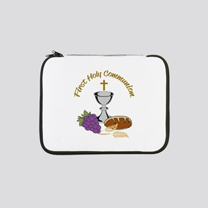 "FIRST HOLY COMMUNION 13"" Laptop Sleeve"