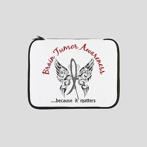 "Brain Tumor Butterfly 6.1 13"" Laptop Sleeve"