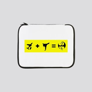 """Formula To Become The Iron Fist 13"""" Laptop Sleeve"""