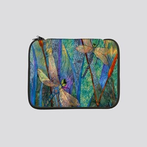 """Colorful Dragonflies 13"""" Laptop Sleeve"""