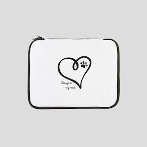 """Always in my Heart 13"""" Laptop Sleeve"""