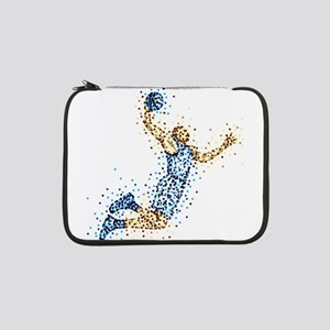 """Basketball Player in BLUE Unifor 13"""" Laptop Sleeve"""