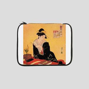 "Immortal Poets by Chobunsei Eishi 13"" Laptop Sleev"