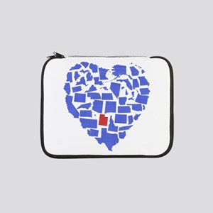 """Utah Heart 13"""" Laptop Sleeve"""