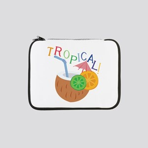 "Tropical 13"" Laptop Sleeve"