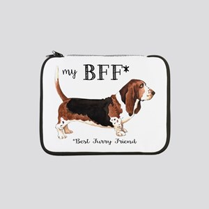 "Basset BFF 13"" Laptop Sleeve"