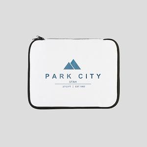 """Park City Ski Resort Utah 13"""" Laptop Sleeve"""