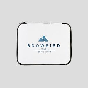 "Snowbird Ski Resort Utah 13"" Laptop Sleeve"