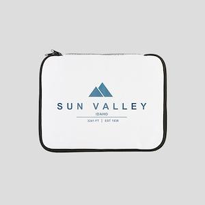 """Sun Valley Ski Resort Idaho 13"""" Laptop Sleeve"""