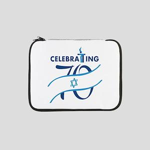 """Celebrating 70! 13"""" Laptop Sleeve"""