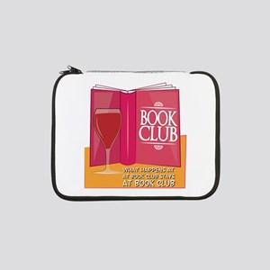 "What Happens At Book Club 13"" Laptop Sleeve"