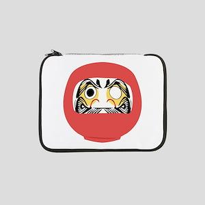 "Japanese Daruma Doll 13"" Laptop Sleeve"