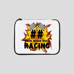 "Flaming Racing 13"" Laptop Sleeve"