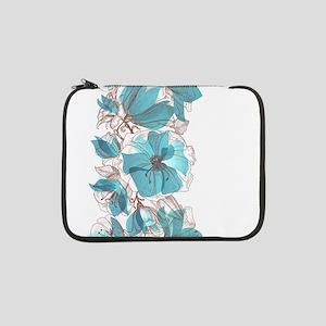 "Pretty Floral 13"" Laptop Sleeve"