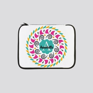 """Personalized Monogrammed Gift 13"""" Laptop Sleeve"""
