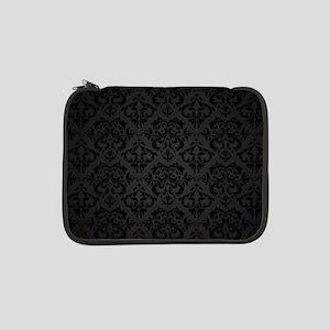 "Elegant Black 13"" Laptop Sleeve"