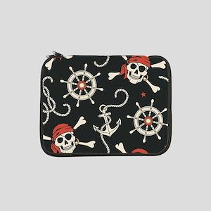 "Pirate Skulls 13"" Laptop Sleeve"