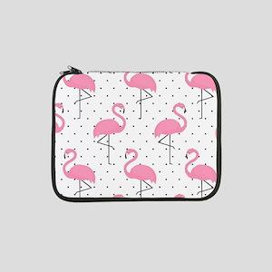 "Cute Flamingo 13"" Laptop Sleeve"
