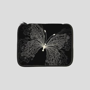 "Elegant Butterfly 13"" Laptop Sleeve"