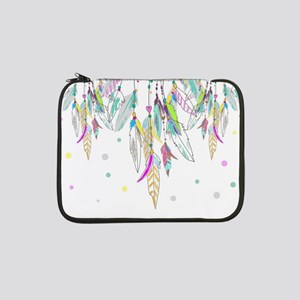 "Dreamcatcher Feathers 13"" Laptop Sleeve"