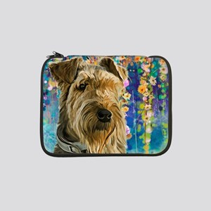 "Airedale Painting 13"" Laptop Sleeve"