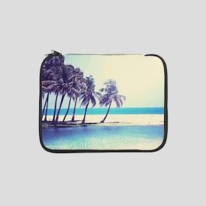 """Tropical Beach 13"""" Laptop Sleeve"""