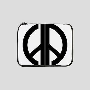 "AA Peace Symbol 13"" Laptop Sleeve"