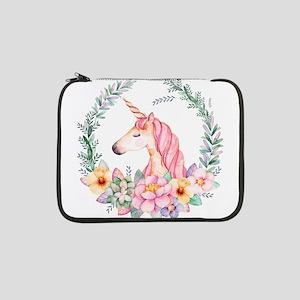 "Pink Unicorn 13"" Laptop Sleeve"