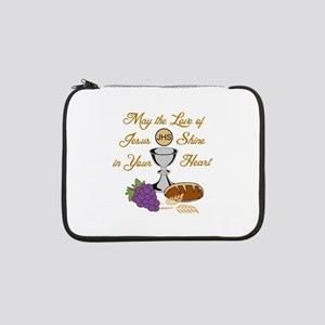 "THE LOVE OF JESUS 13"" Laptop Sleeve"