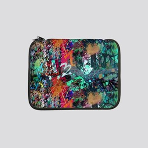 "Graffiti and Paint Splatter 13"" Laptop Sleeve"