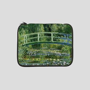 """MonetJapaneseBridge1SC 13"""" Laptop Sleeve"""