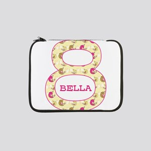 "8th Birthday Personalized 13"" Laptop Sleeve"