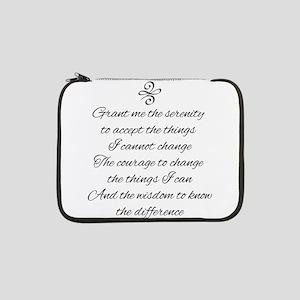 "Serenity Prayer 13"" Laptop Sleeve"