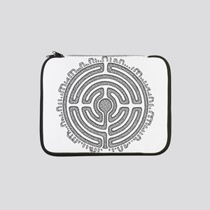 "Celtic Labyrinth Mandala 13"" Laptop Sleeve"