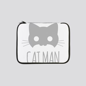 "Cat Man 13"" Laptop Sleeve"