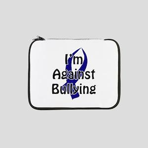 "Anti-Bullying Blue Ribbon 13"" Laptop Sleeve"
