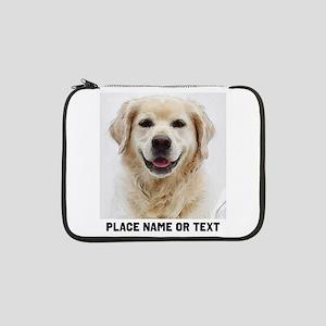 """Dog Photo Customized 13"""" Laptop Sleeve"""