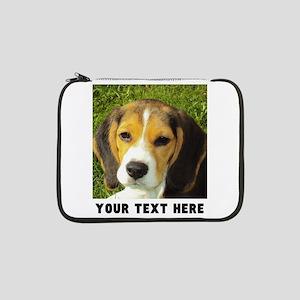 """Dog Photo Personalized 13"""" Laptop Sleeve"""